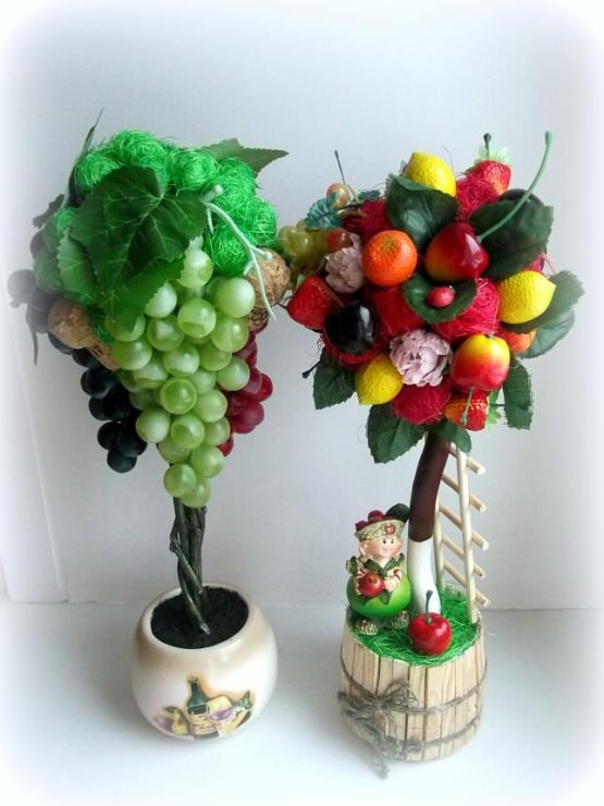 Топиарий своими руками пошаговое из фруктов