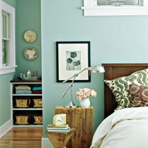 мебель из пней в интерьере спальни