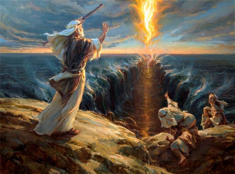 В ветхом завете сказано и простер он руку свою