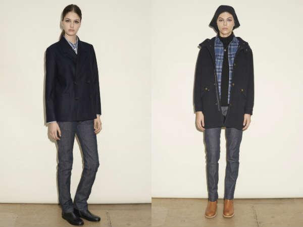 Модные джинсы классического кроя осень-зима 2015-2016