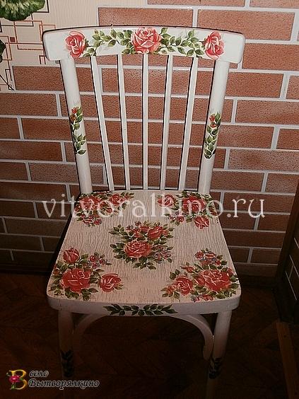 Как восстановить старый стул своими руками