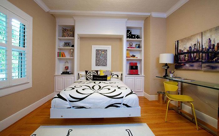 Гостевая спальня с кроватью-шкафом