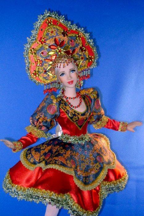 Авторские куклы от Ларисы Исаевой