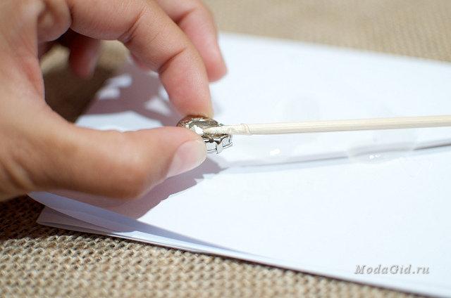 Бумага для приклеивания страз