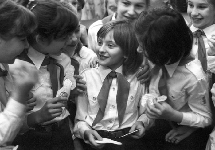 Самая популярная советская школьница 1980-х гг. | Фото: rg.ru