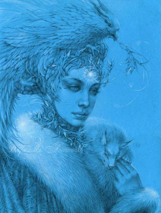 Холодная весна (Cold Spring). Волшебные работы Ольги Исаевой (Olga Isaeva).