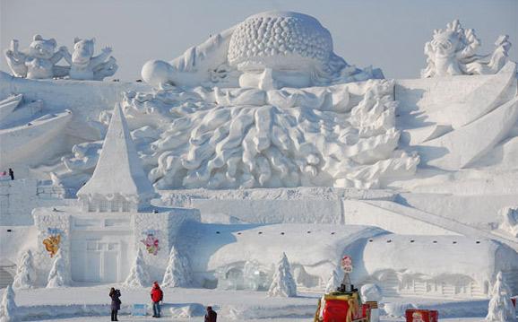 Праздник льда и снега в Харбине
