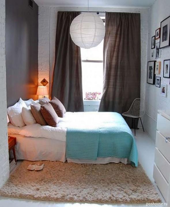 Идеи штор для маленькой спальни