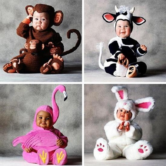 Новогодние костюмы для детей обезьянка