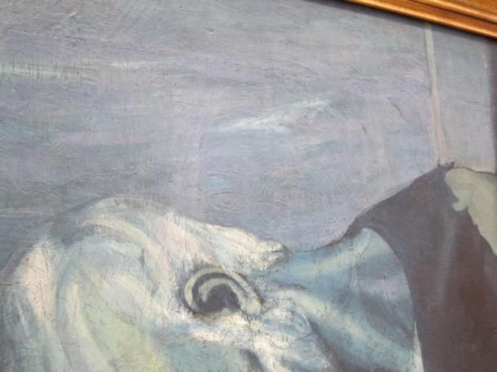 Фрагмент картины Пикассо.