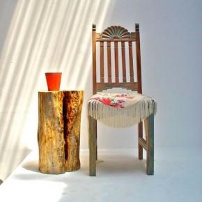 столик из пня