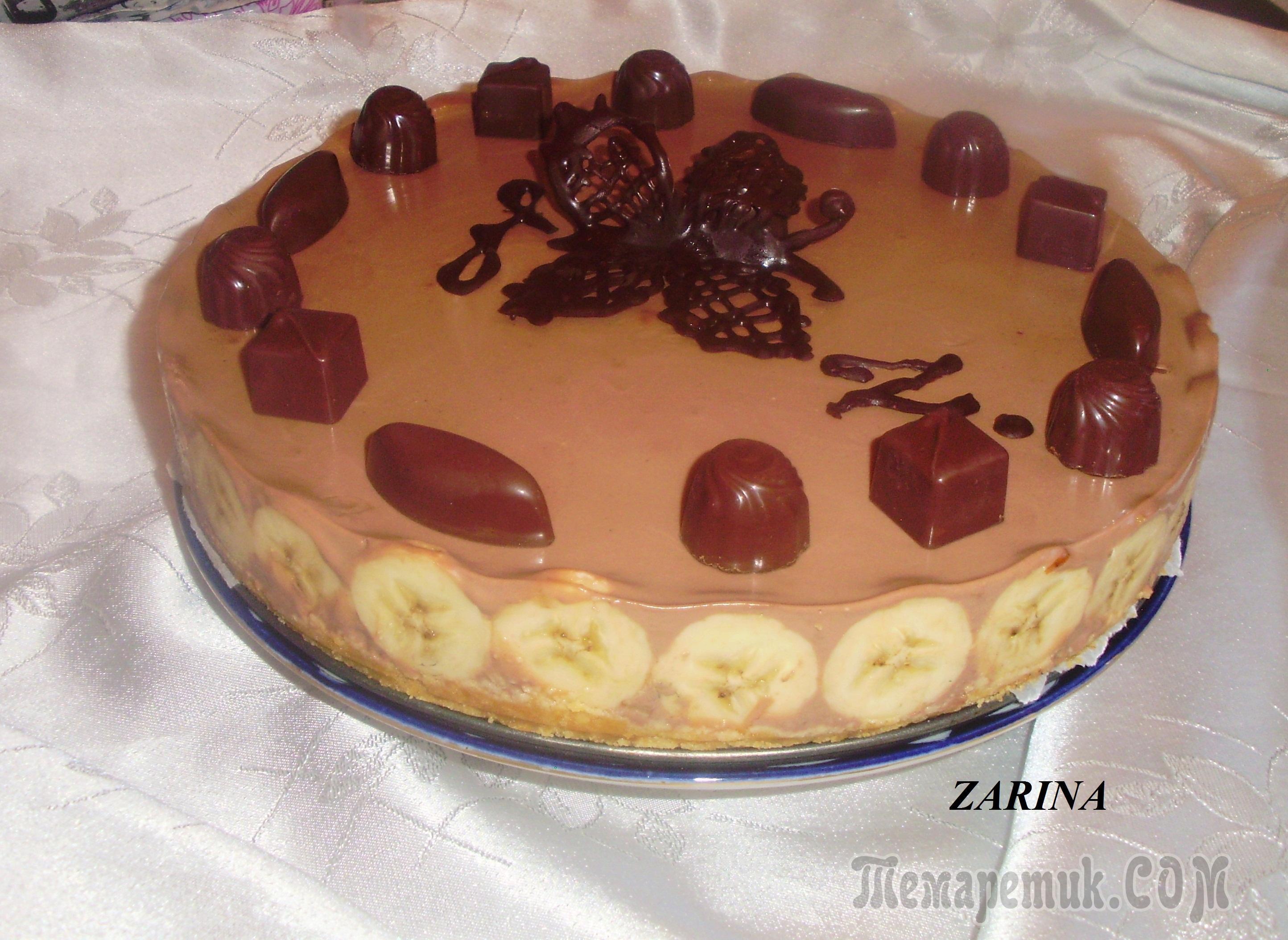 Банановый торт - 58 домашних вкусных рецептов приготовления - nu