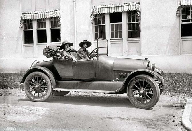 Автоледи начала XX-го века