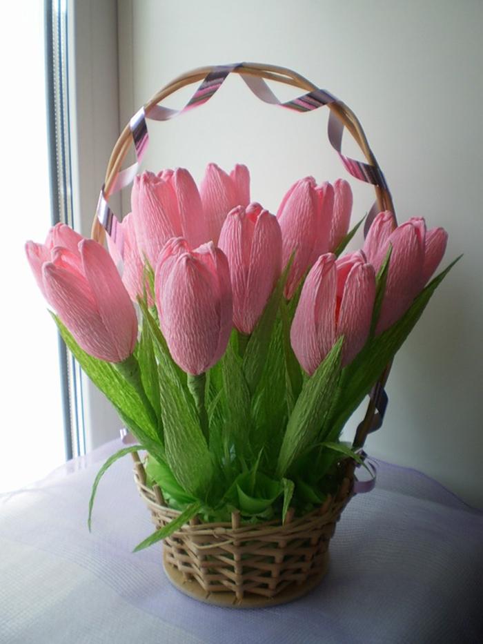 Фото тюльпанов своими руками