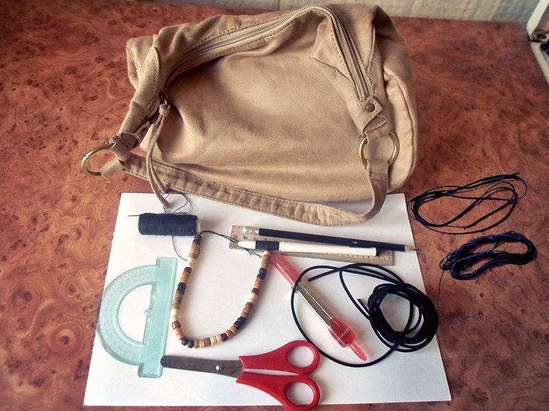 декор сумок своими руками фото
