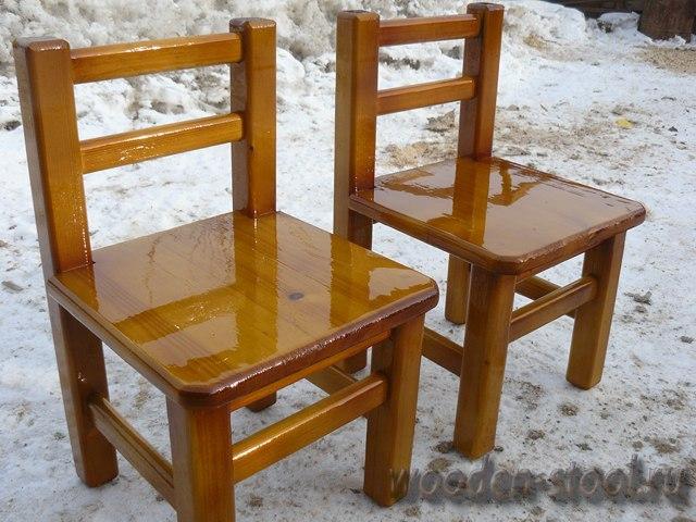 Как делают стулья из дерева своими руками