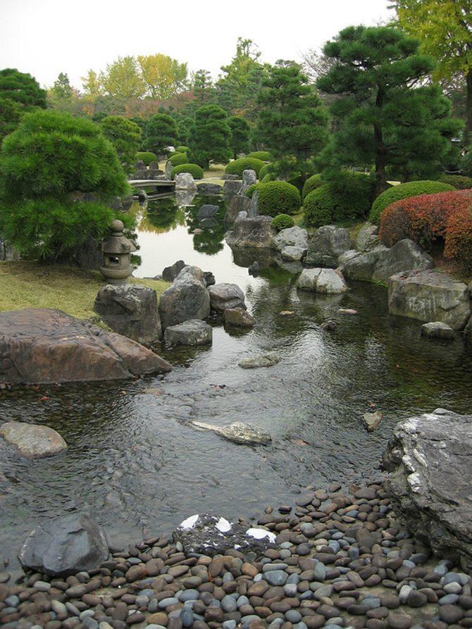 Сады самурайского замка