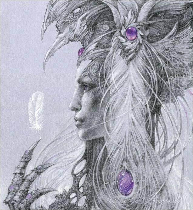 Прозорливость и Спокойствие. (Serendipity. Serenity). Волшебные работы Ольги Исаевой (Olga Isaeva).