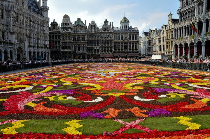 Самый красивые места бельгии