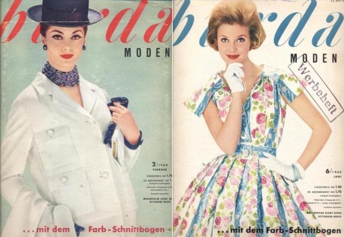 Обложки журнала *Burda moden* 1960-х гг. | Фото: ms77.ru