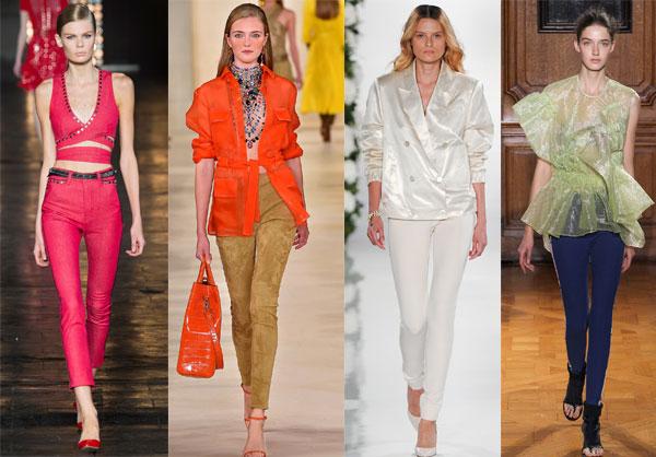 Модные брюки-дудочки весна-лето 2015