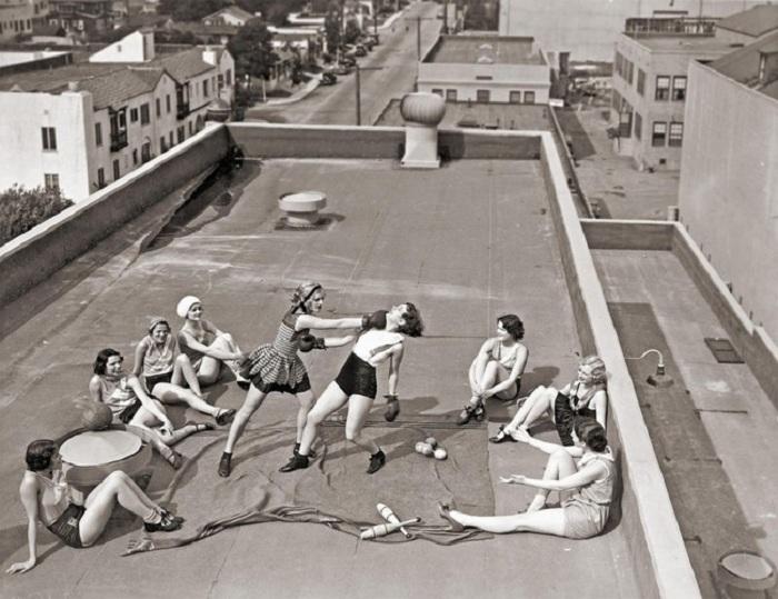 Секс на крышах домов фото 294-570
