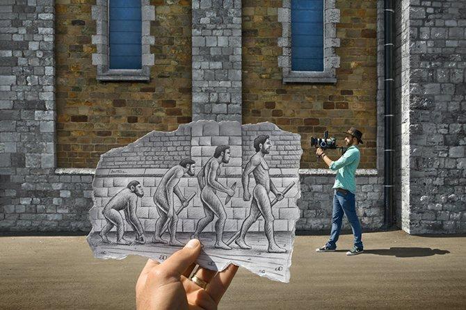Дополненная карандашом реальность