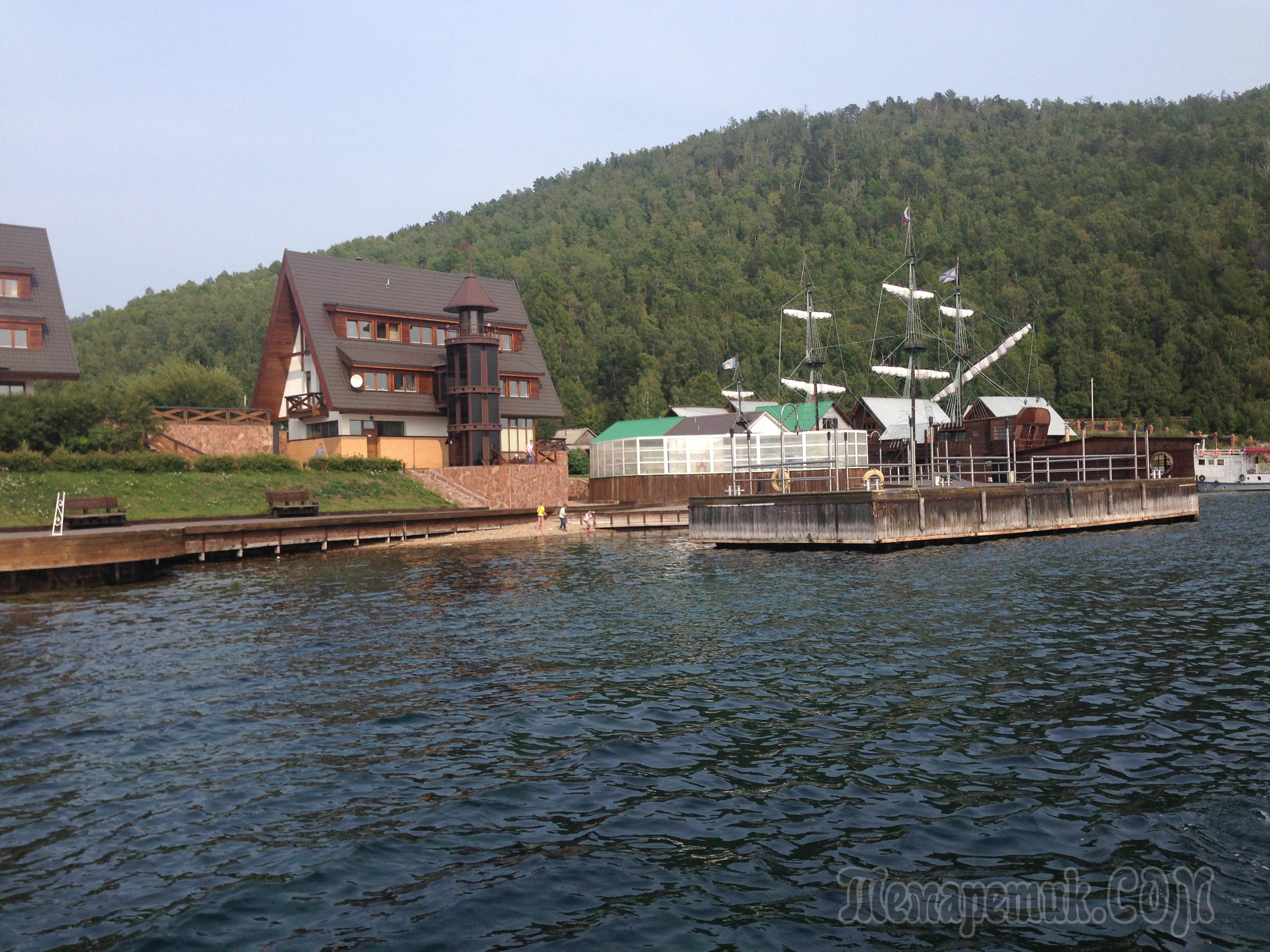 Озе�о Байкал К��гобайкал��кая железная до�ога