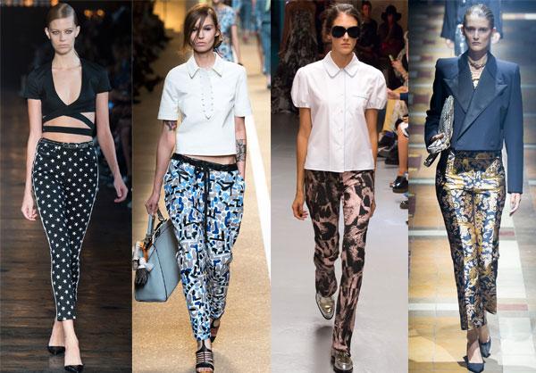 Модные принты брюк весна-лето 2015