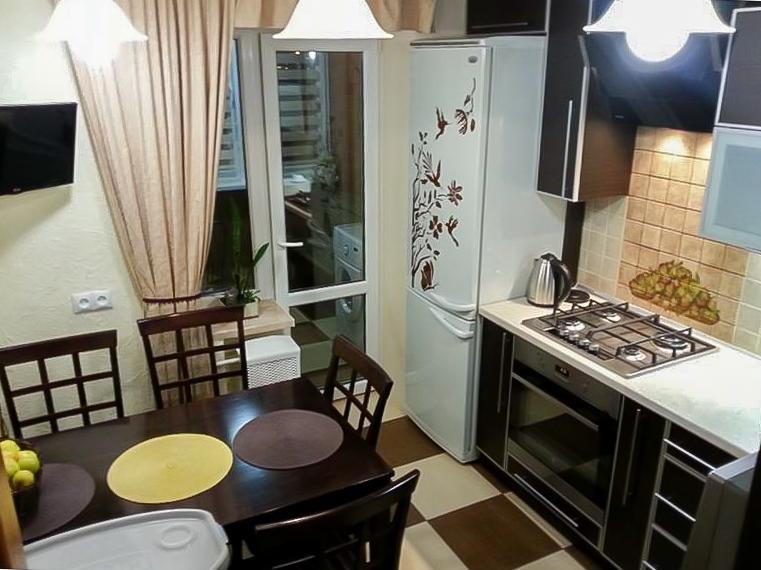 Дизайн кухни фото 8 м