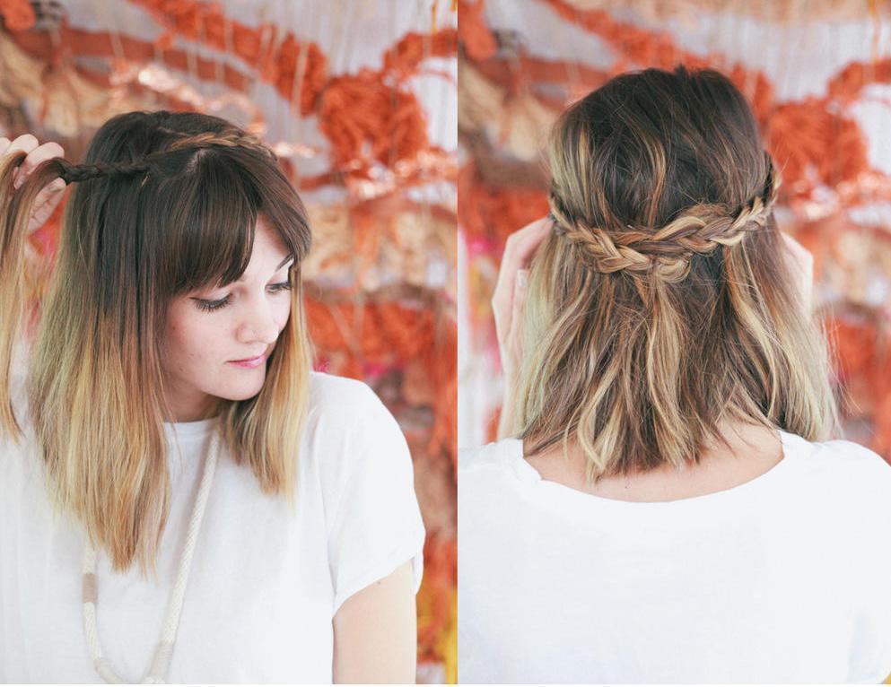 Прическа своими руками на тонкие волосы