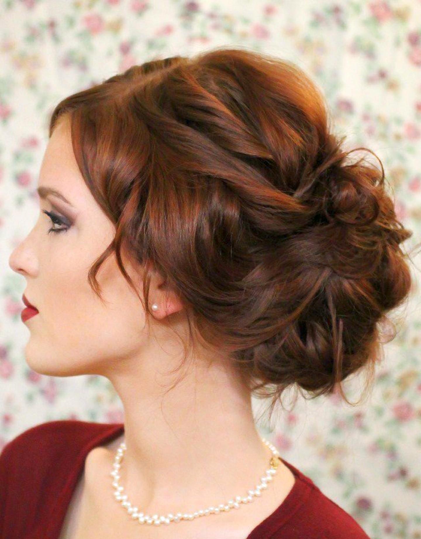 Прически собранный волос фото