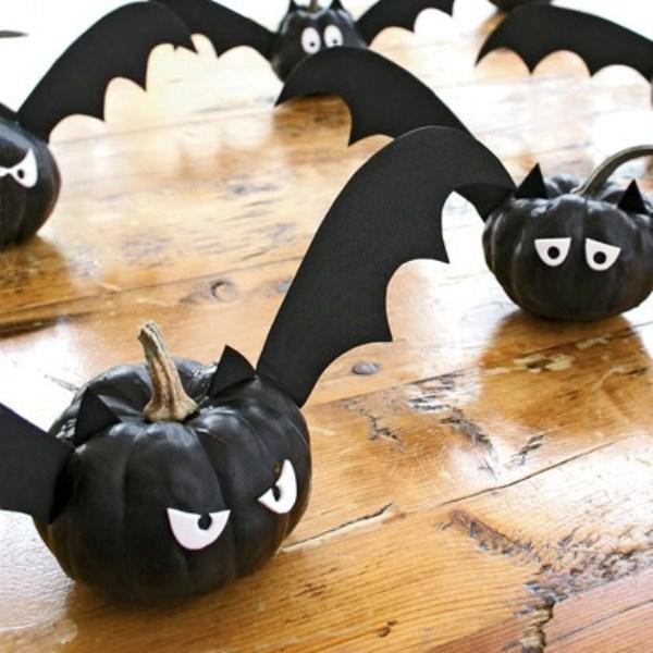Поделки из тыкву на хэллоуин