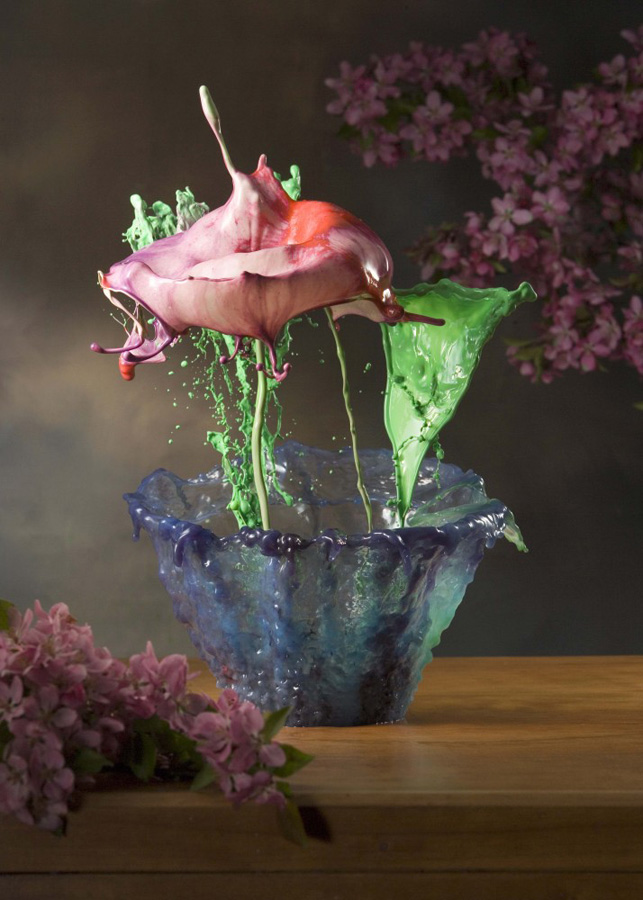 Liquid Potted Flowers 1 Жидкие комнатные цветы