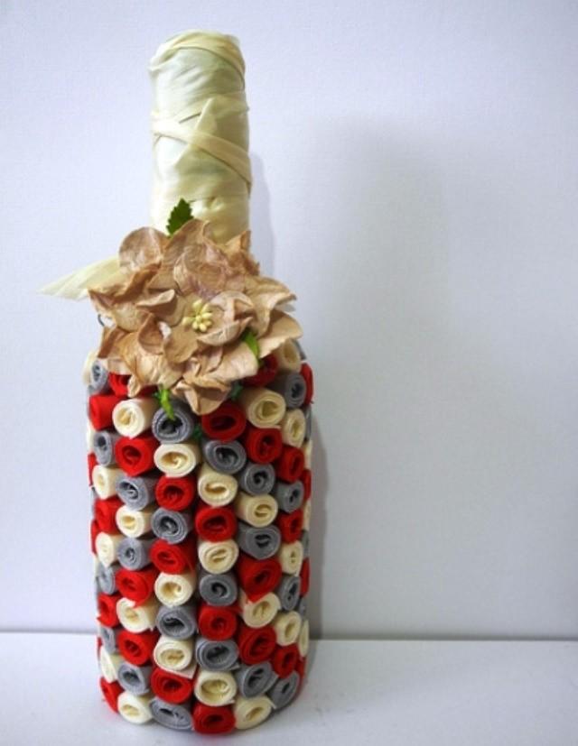 Декорирование бутылок своими руками картинки на юбилей мужчине