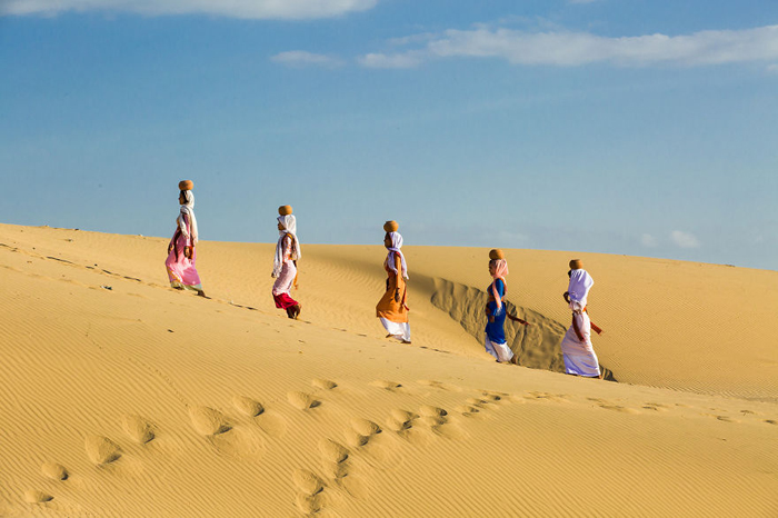 Пустыня Пан Ран. Автор фото: Rehahn.
