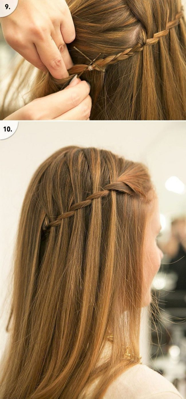Как заплести красиво волосы девочке поэтапно