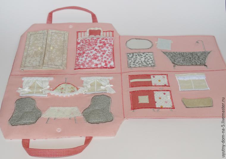 Домик сумка для куклы выкройки