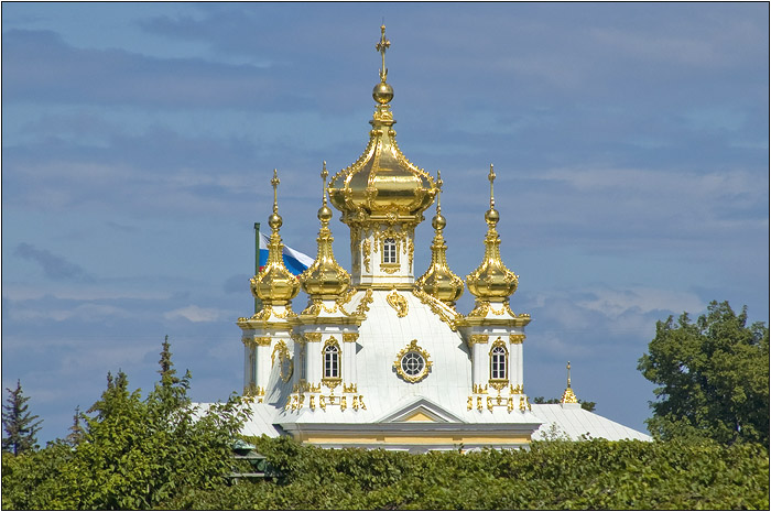 Петергоф. Петродворец. Церковь