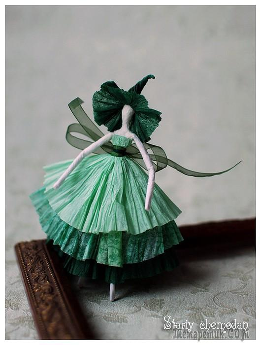 Как сделать поделку балерина - Хобби и увлечения