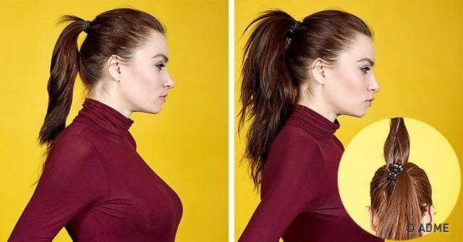 Как сделать обычный хвостик