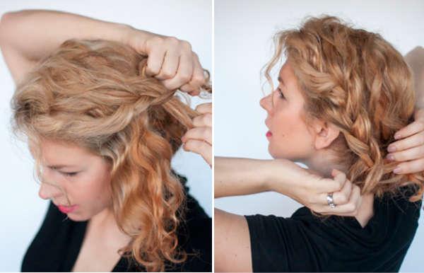 Moda In прически для вьющихся волос