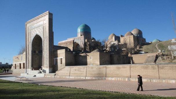 Ансамбль мавзолеев Шахи-Зинда в Самарканде (фото)