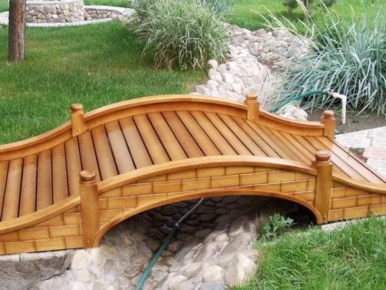 Горбатый мостик для дачи своими руками