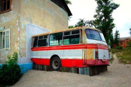6. Автобус-спальня автобус, креатив, луаз