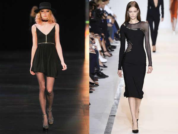 Модный черный цвет весна-лето 2015