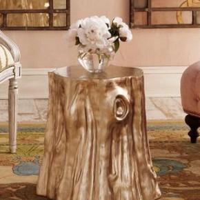 золотой столик из пня
