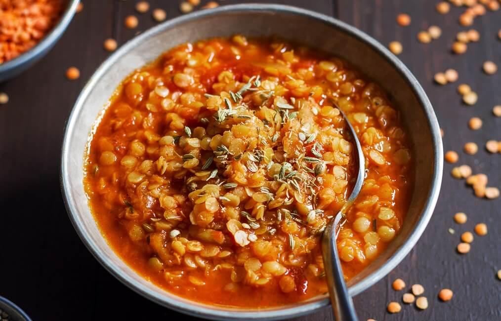 Суп с мясом из красной чечевицы рецепт с пошагово