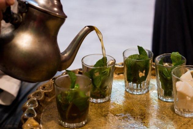 Марокко в мире, чай