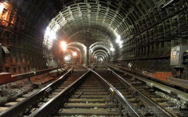 секретные подземные города